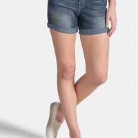 Silver Jeans ® Suki Medium Wash Shorts - Medium Sandblast