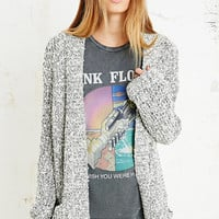 Pins & Needles Nana Grunge Cardigan in Grey Marl - Urban Outfitters