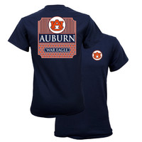 Southern Couture Auburn War Eagle Classic Preppy Girlie Bright T Shirt