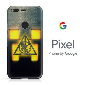 Minecraft Hunger Games Saverus Snape Google Pixel Phone 3D Case