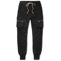Cargo Black Trousers by Rick Owens