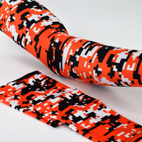 Digital Camo Orange Arm Sleeve