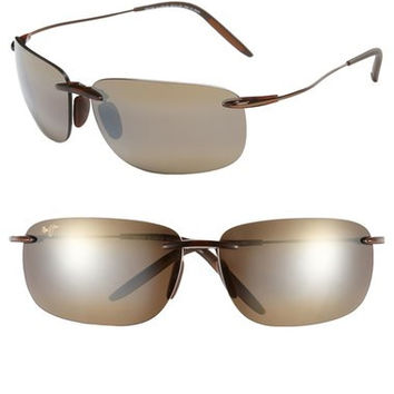 MAUI JIM 'Olowalu' 65mm Rimless Sunglasses