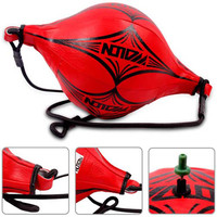 New Double End MMA Boxing Training Punching Bag Speedball Speed Ball Red