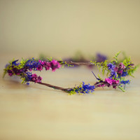 Double vine flower Crown