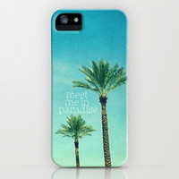 meet me in paradise iPhone & iPod Case by Sylvia Cook Photography