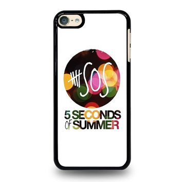 5 SECONDS OF SUMMER 5 5SOS iPod Touch 4 5 6 Case Cover