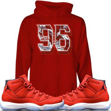 Jordan Retro 11 Win Like 96 Sneaker Hoodies Match - 96