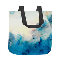 Floral Study Twelve, Floral, Painting, Multicolored Tote Bag