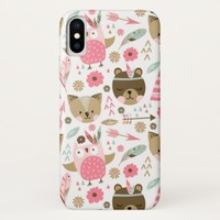 Animal Pattern iPhone X Case