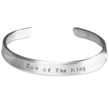 Son of The King Cuff Bracelet