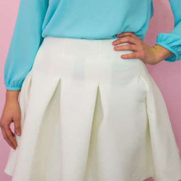 Tiptoe Through The Tulips Skirt - Final Sale