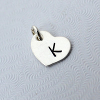 Sterling Silver Heart Charm - Add A Charm