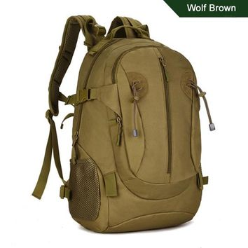 Sports gym bag 5 Colors 40L Outdoor Sports 3P Bag Tactical Military Large Backpack Rucksacks For Explorer Camping Hiking Trekking Army KO_5_1