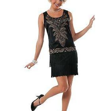 Womens Cocktail Flapper Costume