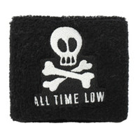 All Time Low Skull & Crossbones Wristband