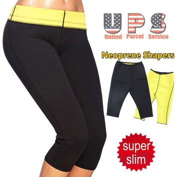 Hot sale best sell super stretch super women hot shapers Control Panties pant stretch neoprene slimming body shaper