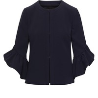 Bi-Stretch Bell-Sleeve Jacket|banana-republic