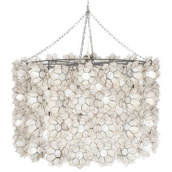 Worlds Away Peony Chandelier