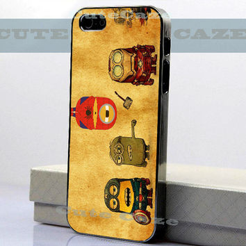 Despicable Me Minion - Avenger - iPhone 4/4S Case - iPhone 5 Case - Samsung Galaxy S3 case - Samsung Galaxy S4 case