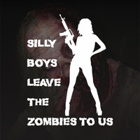 Sexy Girl Bumper Sticker Vinyl Decal Zombie The Walking Dead Apocalypse Team Honda Babe Hot Chick Acura Dope Turbo Jeep BMW Chevy