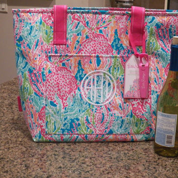 283d26a03e0a67 Lilly Pulitzer lets Cha Cha Insulated from polkadotsmg on Etsy