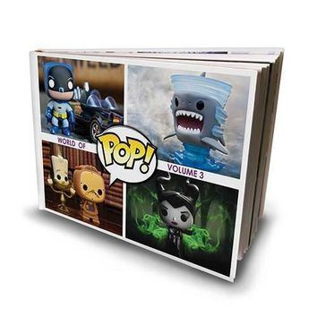 Funko Pop! Vinyl World of Pop! Volume 3 Hardcover Book