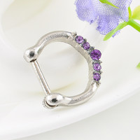 Human body piercing jewelry,fashion nose ring