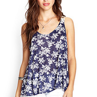 Falling For Floral Tank