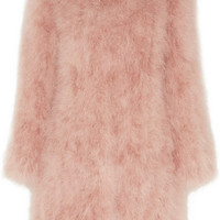 Topshop Unique - Waverton feather coat
