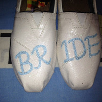 Bride Wedding Custom TOMS