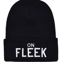 On Fleek Beanie (Black)