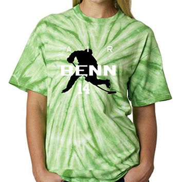 "TIE DYE Jamie Benn Dallas Stars ""Air Benn"" T-Shirt ADULT 2XL"