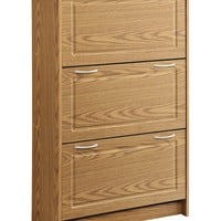 Michael Anthony Furniture Deluxe Double Shoe Rack Cabinet