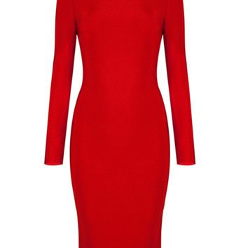 Sima Red Dress