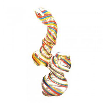 Twisted Neck Bubbler 6""