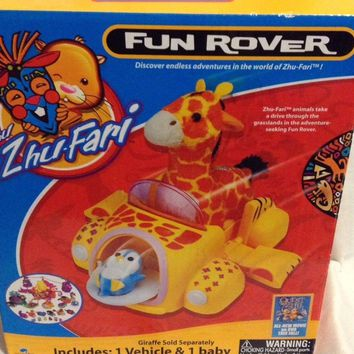 Zhu Zhu ZhuFari  fun rover car toy Includes: 1 Vehicle  1 Baby penguin cute