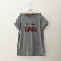 32nd birthday gift for her 1985 shirt for womens graphic tee year of birth 32 birthday shirt tshirt gift for women