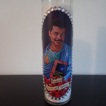 Neil deGrasse Tyson Prayer Candle