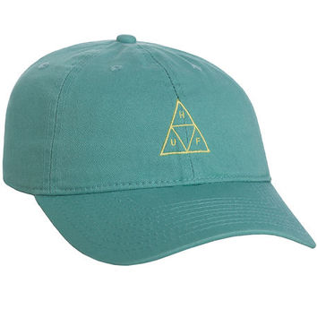 The Triple Triangle Curved Brim 6 Panel in Cypress