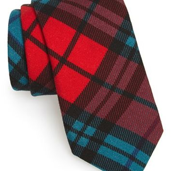 Men's Todd Snyder White Label 'Signature' Plaid Wool Tie, Size Regular - Red