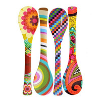 Melamine Salad Server - 6 Patterns to choose from