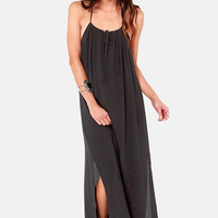 Lucy Love Paris Black Maxi Dress