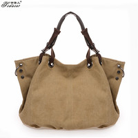 Women Canvas BOHO Chic Handbag Messenger Bags Vintage Shoulder Crossbody
