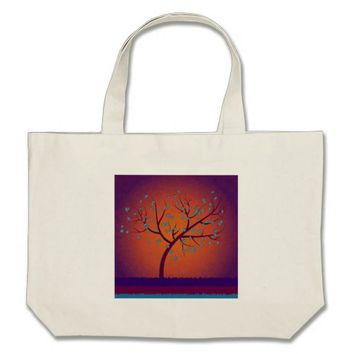 Tree of Life Large Tote Bag