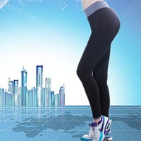 Fashion Quick Dry Women Leggings Elastic Comfortable Surper stretch slimming Legging Workout pants Fitness Trousers leggins