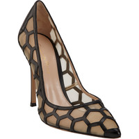 Geometric-Cutout Pump