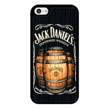 Jack Daniels On Black Wood 2 iPhone 5/5S/SE Case