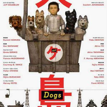 Isle of Dogs Wes Anderson Movie Poster 11x17