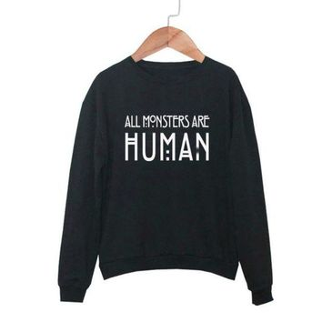 Sudaderas Mujer 2016 Women Hoodies O Neck Long Sleeve Printed Solid Fleece Loose Hoodie Sweatshirt Couple Kpop Bts Exo Female
